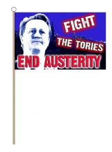 HAND WAVING FLAG - Fight the Tories